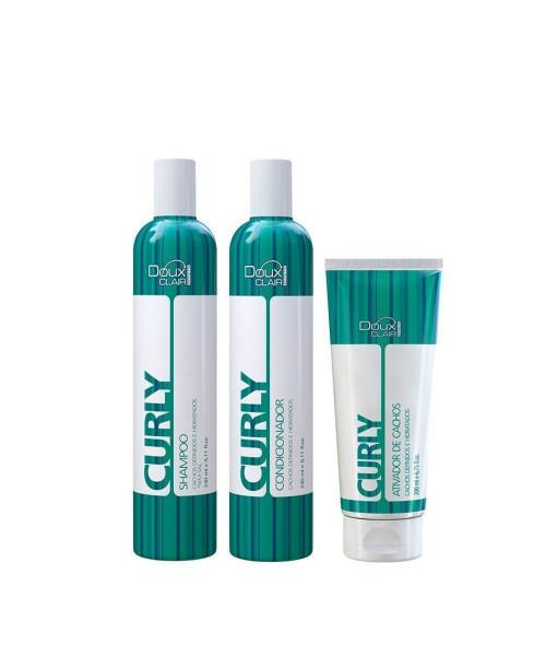 Doux Clair Effets Curly Kit Tratamento (3 produtos)
