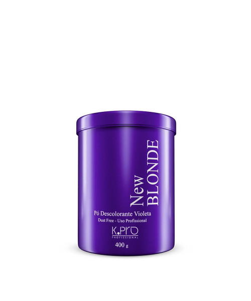 K.Pro New Blonde Pó Descolorante Violeta 400g