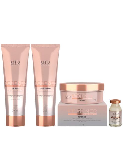 K.Pro Regenér Kit Tratamento Completo (4 produtos)
