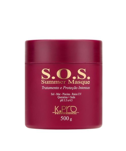 K.Pro S.O.S. Summer Masque Tratamento e Proteção 500g