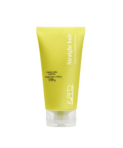 K.Pro Straight Hair Creme Com Proteção Térmica 150g