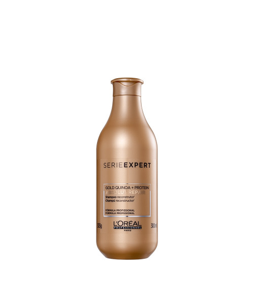 L'Oréal Absolut Repair Gold Quinoa Shampoo 300ml