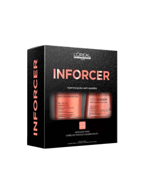 L'Oréal Inforcer Kit Cuidados (2 produtos)