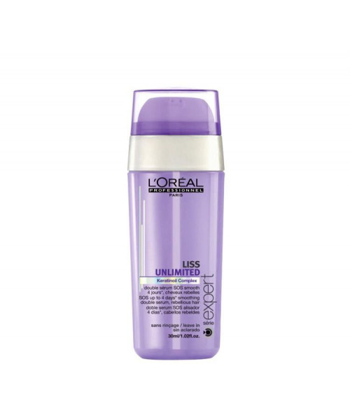 L'Oréal Liss Unlimited Dual Sérum SOS Alisador 30ml