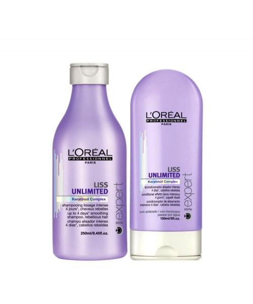 L'Oréal Liss Unlimited Kit Duo