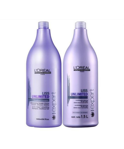 L'Oréal Liss Unlimited Kit Duo Profissional (2x1,5L)