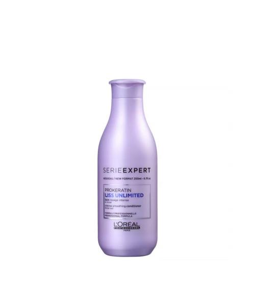 L'Oréal Liss Unlimited Condicionador Efeito Liso 200ml