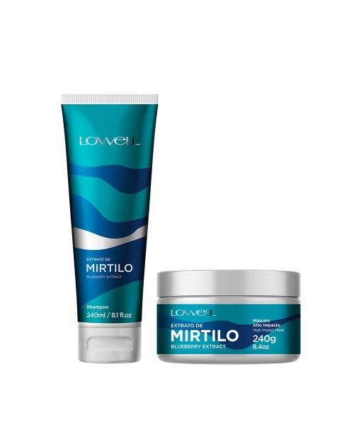 Lowell Extrato de Mirtilo Kit Tratamento (2 produtos)