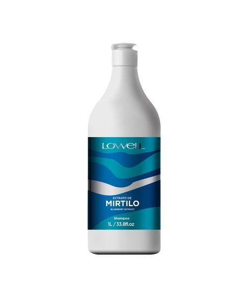 Lowell Extrato de Mirtilo Shampoo Lavatório 1L