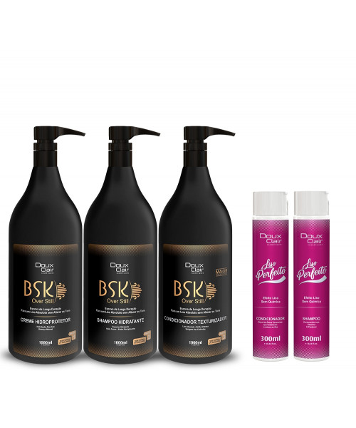 Doux Clair BSK Over Still Kit Profissional (3x1L) + Kit Duo
