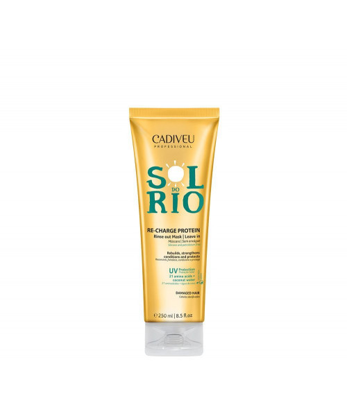 Cadiveu Sol do Rio Re-Charge Protein Recarga de Proteina 250ml