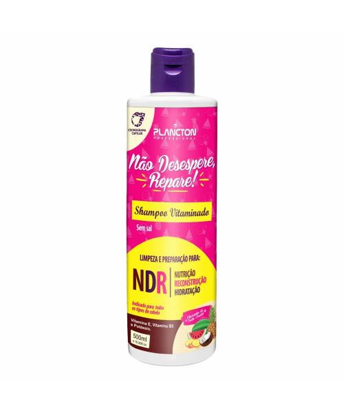 Plancton Não Desespere, Repare! Shampoo 500ml