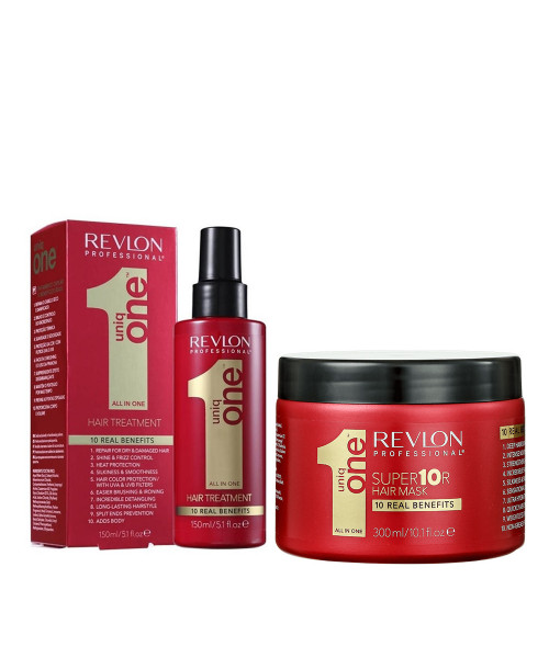 Revlon Professional Uniq One All In One Leave-in 150ml + Supermask Máscara Capilar 300ml