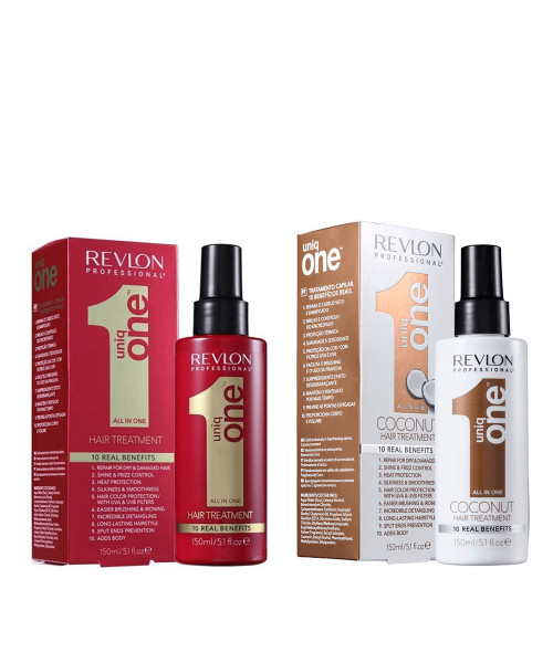 Revlon Professional Uniq One All In One Leave-in 150ml + Coconut Leave-in 150ml