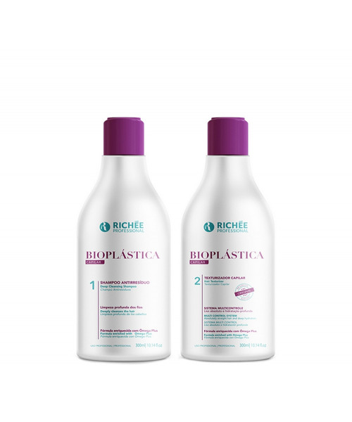 Richée Bioplástica Escova Progressiva Kit (2x300ml)
