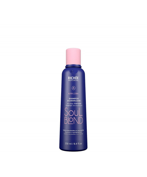 Richée Soul Blond Shampoo Desamarelador 250ml
