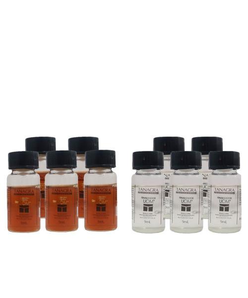 Tânagra Sistema UOM Kit Ampolas p/ Nanoqueratinização