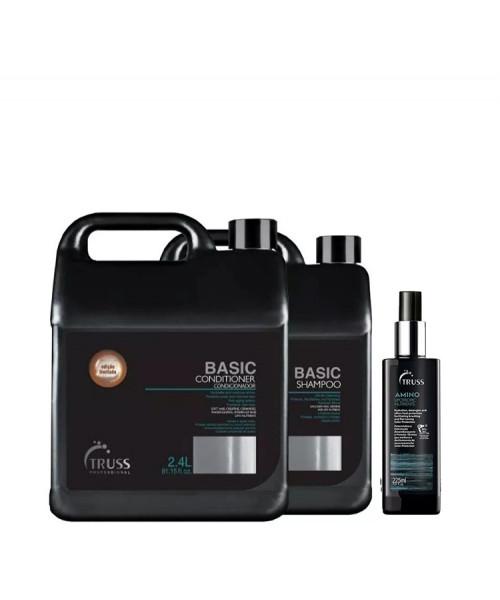 Truss Kit Professional Lavatório Basic + Miracle Amino 200ml