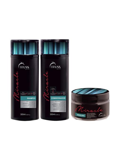 Truss Miracle Kit Tratamento (3 produtos)