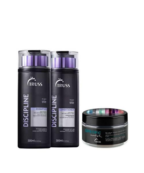 Truss Discipline Kit Tratamento (3 produtos)