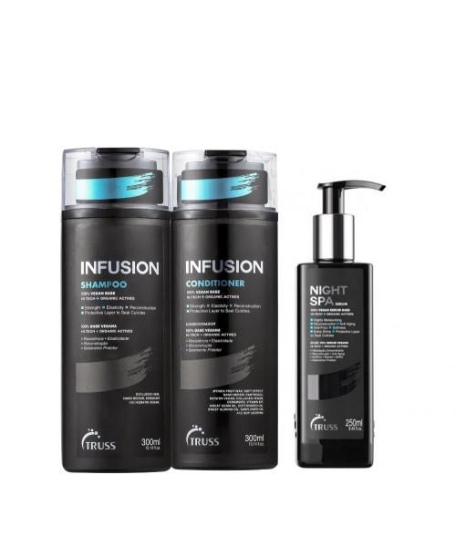 Truss Infusion Kit Tratamento (3 Produtos)