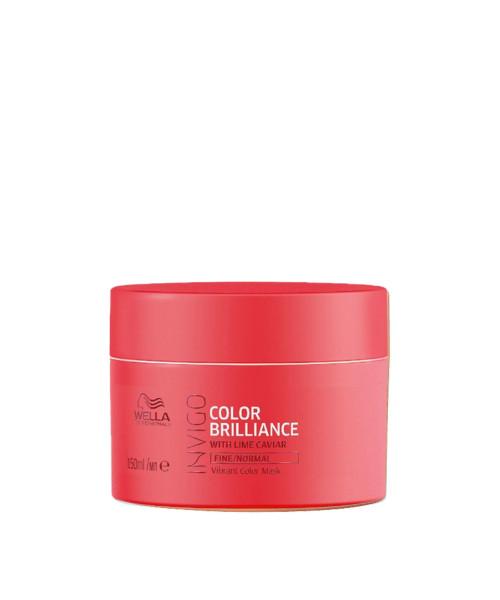 Wella Invigo Color Brilliance Máscara Cabelo Normal e Fino 150ml